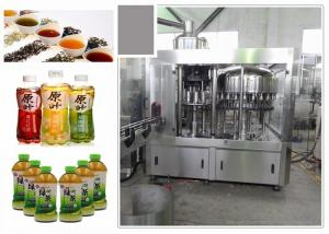 China 6.68kw Standard 3-In-1 Monoblock Tea Filling Machine With Perfect CIP System on sale