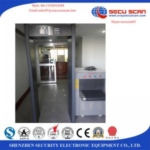 China Security Alert Weapons X Ray Baggage Scanner For Metro Shoes Factory Post Office on sale