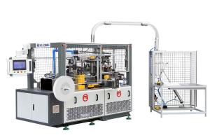 Quality Fully Automatic Paper Cup Making Machine MG - C800 PLC System Control For Hot for sale
