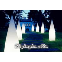 Decorative Stage Light Inflatable Cone for Party and Yard Decoration