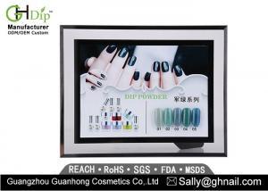 China Durable 0.5 Oz Acrylic Nail Salon Dip Powder Harmless No Shinny Surface on sale