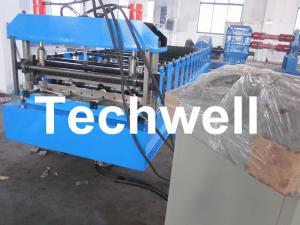China El acero/el hierro/la techumbre automáticos del SOLDADO ENROLLADO EN EL EJÉRCITO IBR perfilaron el rollo de la hoja que formaba la máquina on sale