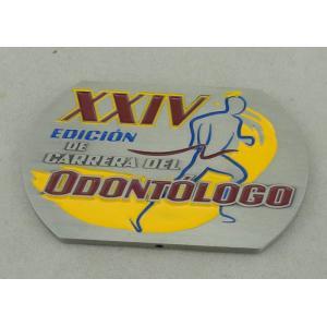 China XXIV Souvenir Badges For Running , Carrera Del Zinc Alloy on sale
