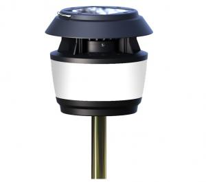 China Outdoor Solar Garden Led Light with Stainless Steel Pole insert into soil on sale