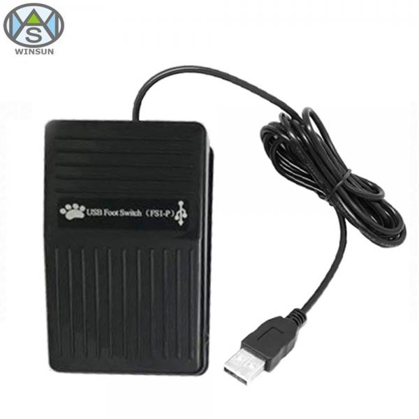 USB Foot Switch Single Pedal Control Action Custom Keyboard HID for PC Laptop