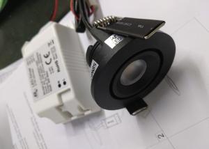 China Mini 3.5W Dia 52*H 31MM Tiltable IP20 CITIZEN COB Warm White 3000K Recessed LED Fixture Downlight on sale