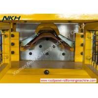 China Galvanized Metal Roof Ridge Cap Roll Forming Machine PLC Control Corner Flashing Machine on sale