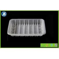 PET Clear Plastic Frozen Plastic Food Packaging Trays , Disposable Food Tray