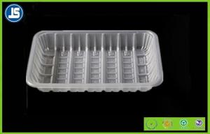 China PET Clear Plastic Frozen Plastic Food Packaging Trays , Disposable Food Tray on sale