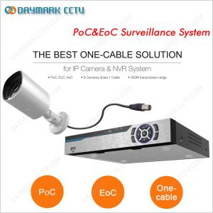 China Plug and Play PoC&EoC Video Surveillance System on sale