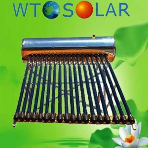 China heat pipe  porcelain enamel solar water heater on sale