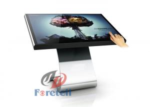 China 3D 4K LCD Display 22 Inch Multi Touch LCD Advertising Board With 3G Network on sale