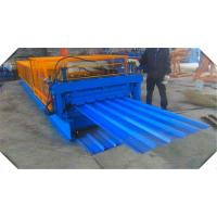 IBR Corrugated Profile Color Steel Roll Forming Machine 10-15 Meter/Min Easy Operation