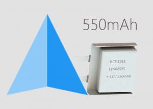 China Primary Lithium Batteries 550mAh CP502525 Soft Cell for GSM GPRS NB-IoT LoRa AMR on sale