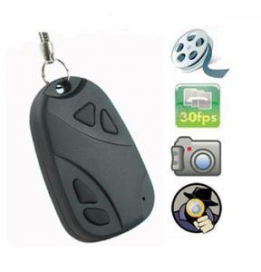 China Hidden Camera | Mini video hidden car key camera car key chain camera DV 808 on sale