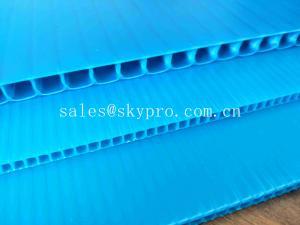 China Fire Retardant Retardant Effect PP Corrugated Plastic Sheet Corflute PP Hollow Sheet on sale