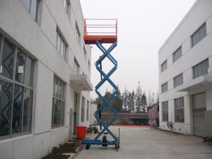Extension Platform AC / DC Electric Elevating Hydraulic Mobile