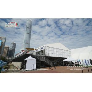 China glass mobile catering tent with luxury accessories in South Africa on sale