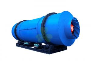 China 22kW Rotary Drum Dryers For Wood Chips Atomizer Type 1--5r / Min Rotary Speed on sale
