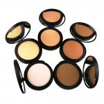 Professional Face Makeup Powder Foundation Waterproof Mineral Cosmetics Pressed Powder