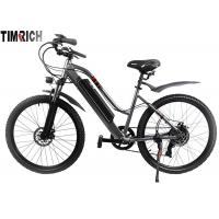 TM-KV-2660   Electric Mileage 31KM Electric Battery Powered Bike 26 Inch With Front / Rear Fenders