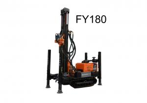 China Track Type Water Well Drilling Rig Multipurpose For 180 Meters Well FY180 Model on sale