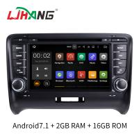 Android 7.1 Car Radio Audi Car DVD Player With Wifi BT Gps AUX Video