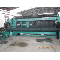 China Mesh Size 80 * 100 mm Automatic Gabion Making Machine For Foundation Pit Supporting on sale