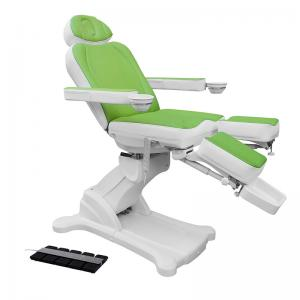 China Nail Care Pedicure Spa Massage Chair , Automatic Control Hydraulic Massage Table on sale