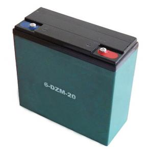 China Electric Bike battery 12v20ah 6-DZM-20 E bicycle battery Electric Scooter Battery 12V20Ah on sale