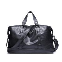 PU Leather Vintage Cross Shoulder Bag 36-55 L With Durable Buckle / Soft Handle