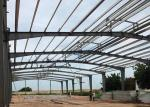 Large Span Steel Frame Prefabricated Steel Structure Building With Rigid Steel Frame