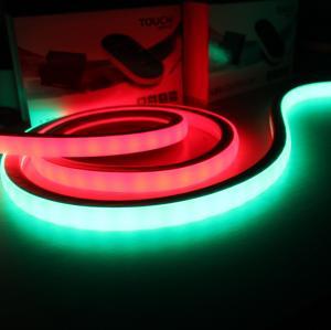 China Digital flashing light SMD LED 5050 RGB with IC Neon 12V 17x17mm square digital neon-flex lights on sale