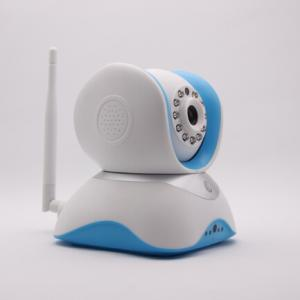 China 1MP 3.6mm lens micro sd card support WiFi Motion detection audio input and alarm camera on sale