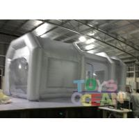6x3x3m Advertising Inflatables Spray Booth Grey Color For Car Painting Use