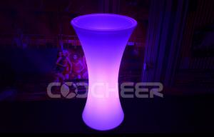 China RGB Color Changing Led Ice Bucket Remote Controlled Rechargeable Large Ice Bucket on sale