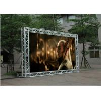 Full Color P5 LED Wall Screen Display Outdoor High Brightness Alum Cabinet
