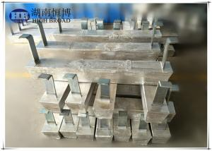 China Cathodic protection application Aluminum Anodes for Hull Ballast tanks on sale