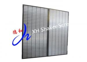 China 2 - 3 Layers Oil Drilling Composite Shaker Screen For Mi- Swaco Mongoose on sale