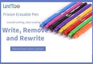 China Plastic Heat Sensitive 12 Colors Frixion Pen 0.5 Black Blue on sale