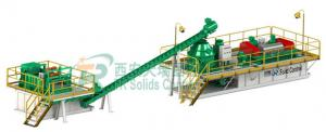 China Large Scale OBM Drilling Mud System for Oil Based Drill Cuttings Management on sale