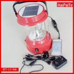 lumière solaire de 4 LED avec le chargeur de radio et de téléphone