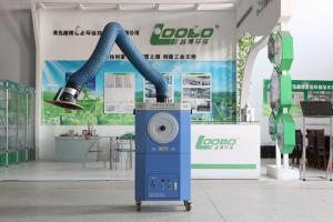 China Qingdao Loobo Factory Welding Fume Extractor Filter with self support fume extraction arm on sale