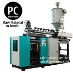 5 galones del policarbonato de moldeo por insuflación de aire comprimido de la botella botella de la PC de 3 galones que hace la máquina