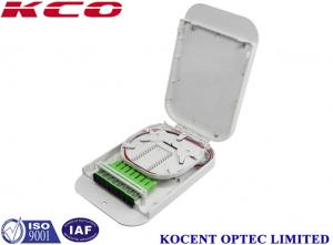 China FTTH 8 Port Plastic FTB Fiber Optical Terminal Box SC/APC ABS PC Material KCO-FTB08C on sale