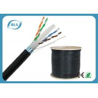 China Outdoor FTP Cat6 LAN Cable Heavy-Duty Al Foil Shielding Double Jacket Cables on sale