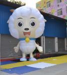 Ovejas agradables de la publicidad de la exhibición del acontecimiento de la altura inflable de los productos los 3.5m