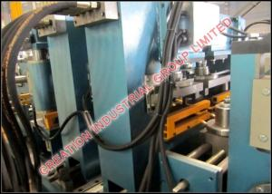 China Automatic PLC Operating C Z Purline Roll Former Machine with Gear Boxes Driven Rollers System on sale