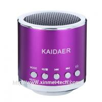 China TF card slot wireless bluetooth speaker with FM radio on sale