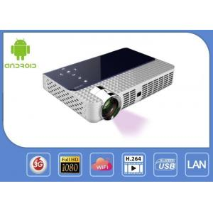China Silver Protable 3D IPTV Android Smart TV Box Support Wifi / Bluetooth on sale